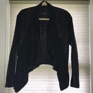 C.Luce textured jacket